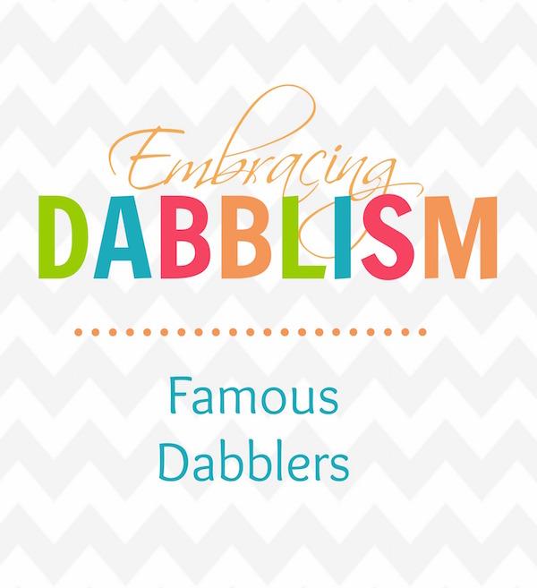 Blog Famous Dabblers